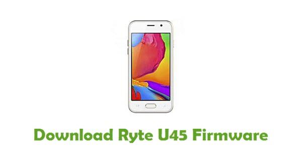 Ryte U45 Stock ROM