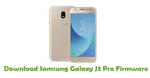 Download Samsung Galaxy J3 Pro Stock ROM