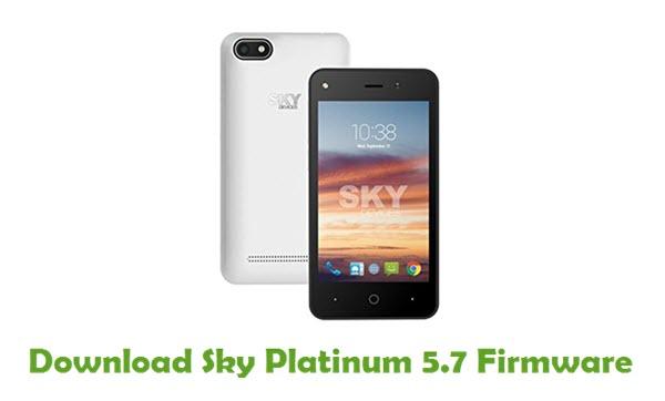 Download Sky Platinum 5.7 Stock ROM