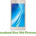 Vivo Y53 Firmware
