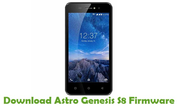 Download Astro Genesis S8 Firmware
