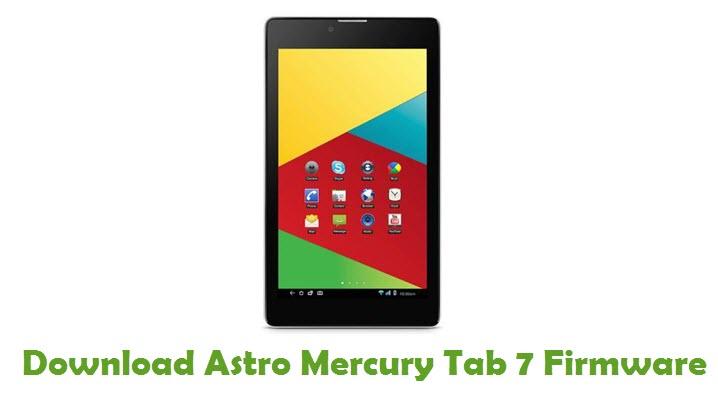 Download Astro Mercury Tab 7 Firmware