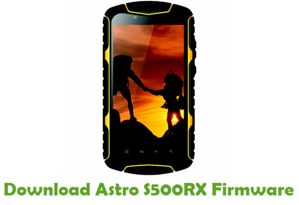 Download Astro S500RX Firmware