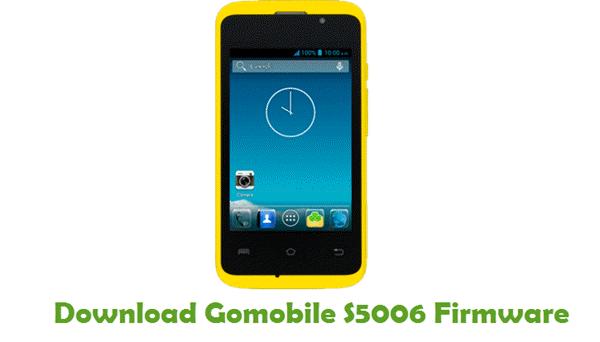 Gomobile S5006 Stock ROM