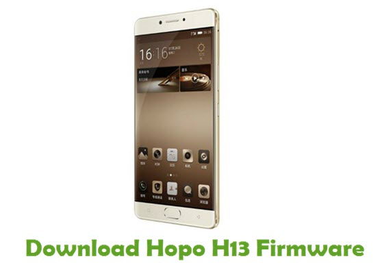 Download Hopo H13 Firmware