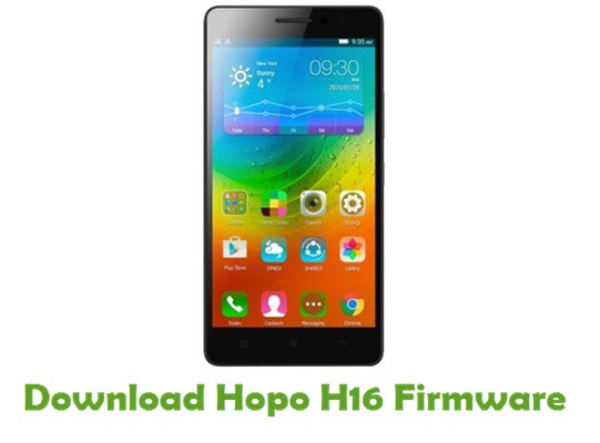 Download Hopo H16 Firmware