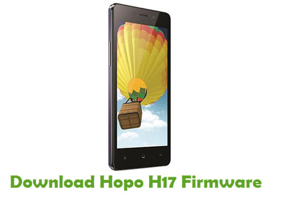 Download Hopo H17 Firmware