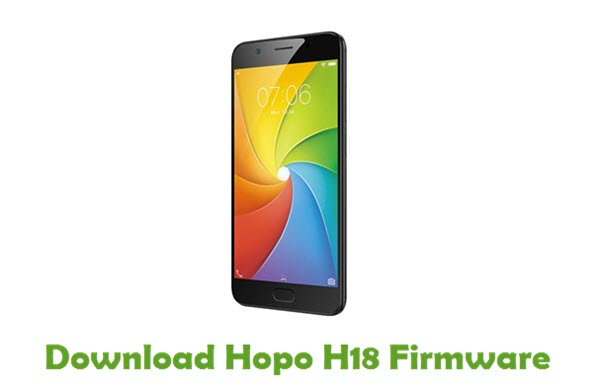 Download Hopo H18 Firmware