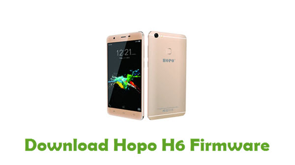 Download Hopo H6 Firmware