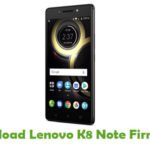 Lenovo K8 Note Firmware