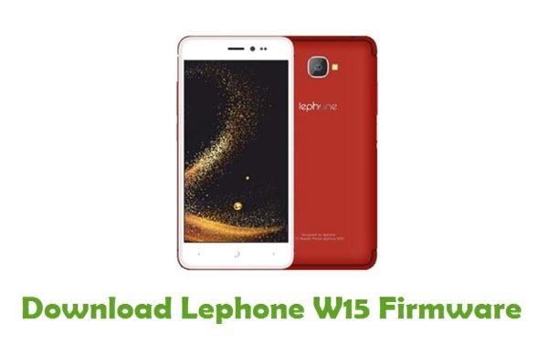 Lephone W15 Stock ROM