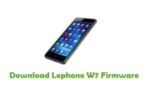 Download Lephone W7 Firmware - Android Stock ROM Files