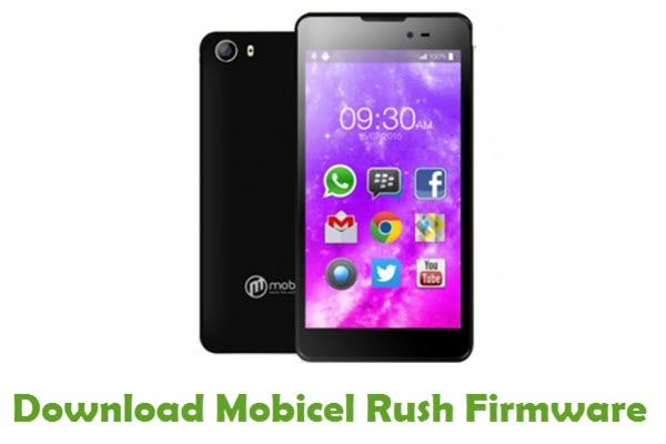 Mobicel Rush Stock ROM