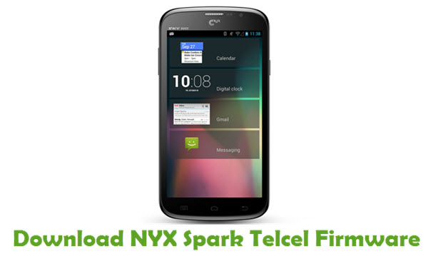 Download NYX Spark Telcel Stock ROM