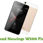 Newings W500 Firmware