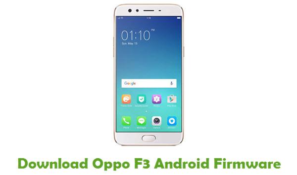 Oppo F3 Stock ROM