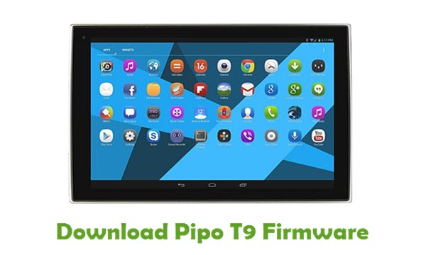 Pipo T9 Stock ROM