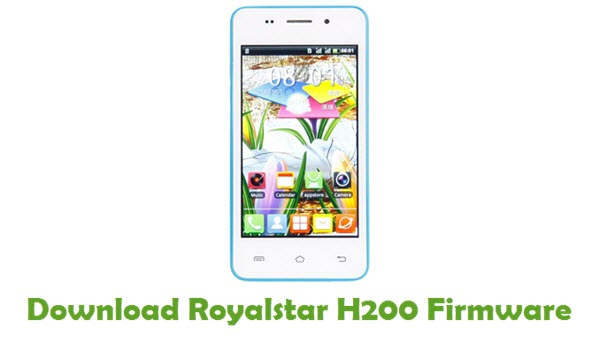 Royalstar H200 Stock ROM