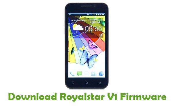 Royalstar V1 Stock ROM