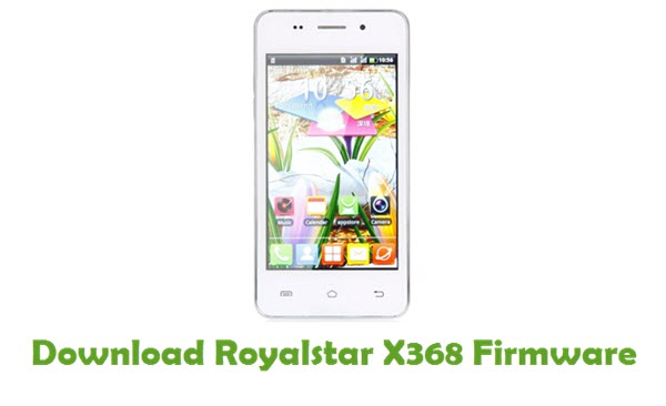 Download Royalstar X368 Firmware