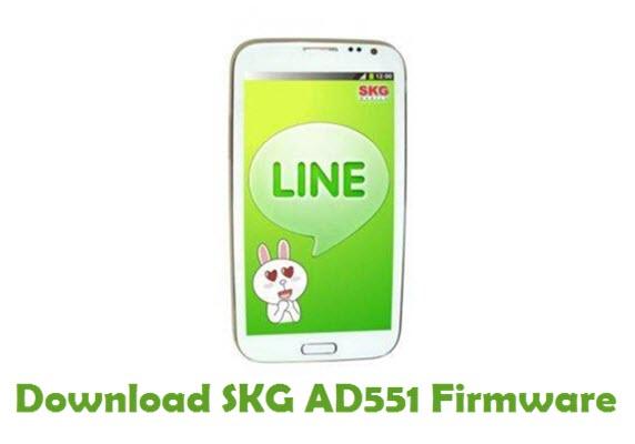 Download SKG AD551 Stock ROM