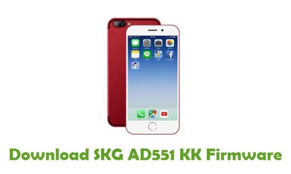 Download SKG AD551 KK Stock ROM