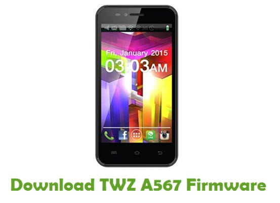 Download TWZ A567 Stock ROM