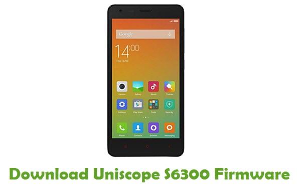 Download Uniscope S6300 USB Driver