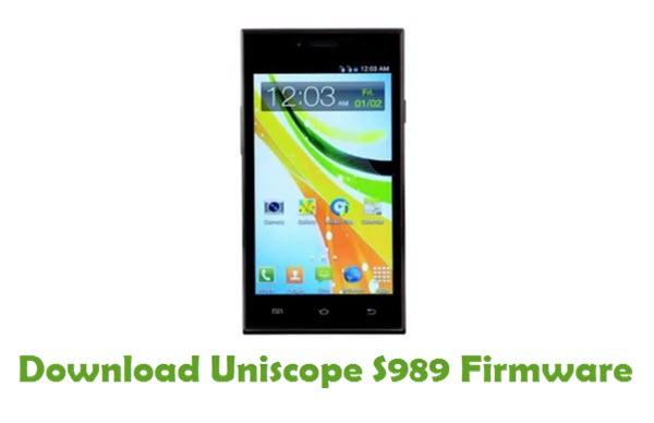 Download Uniscope S989 USB Driver