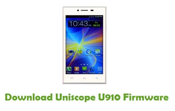 Download Uniscope U910 USB Driver