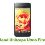 Uniscope U966 Stock ROM