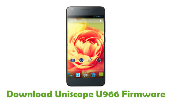Download Uniscope U966 USB Driver