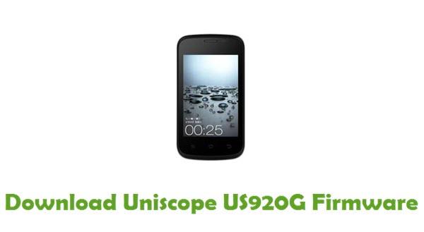 Download Uniscope US920G Stock ROM