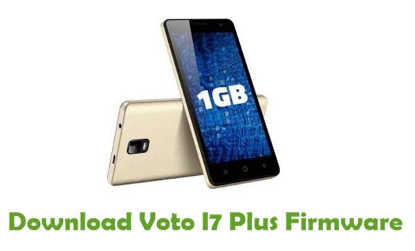 Voto I7 Plus Stock ROM