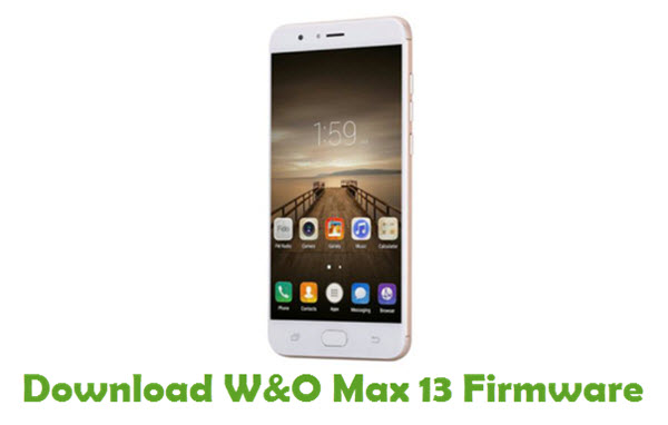 Download W&O Max 13 Firmware