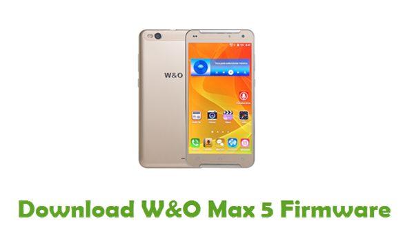 Download W&O Max 5 Firmware