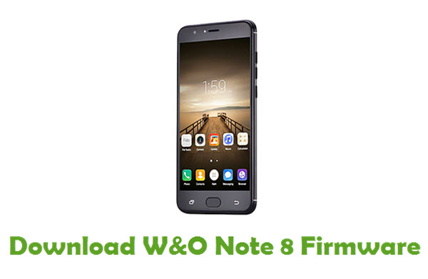 W&O Note 8 Stock ROM
