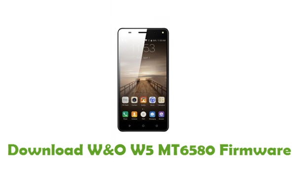 Download W&O W5 MT6580 Firmware
