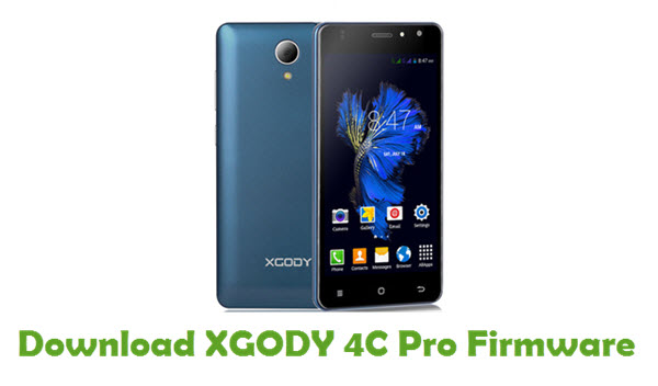 Download XGODY 4C Pro Stock ROM