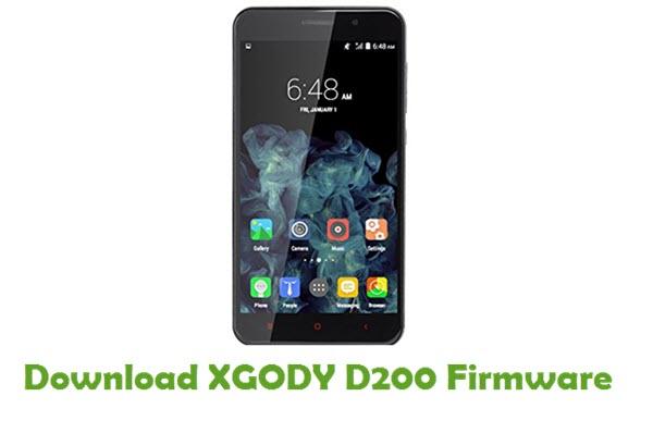 Download XGODY D200 Stock ROM