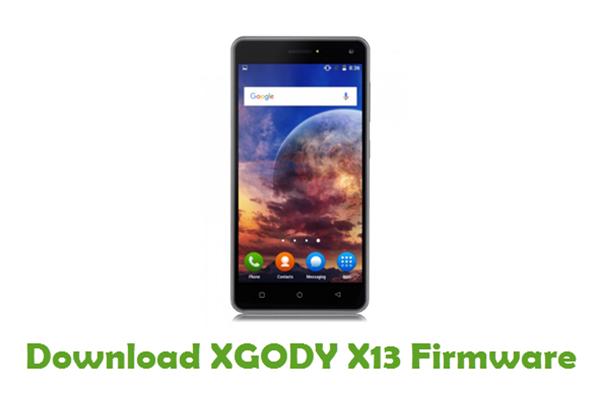 Download XGODY X13 Stock ROM