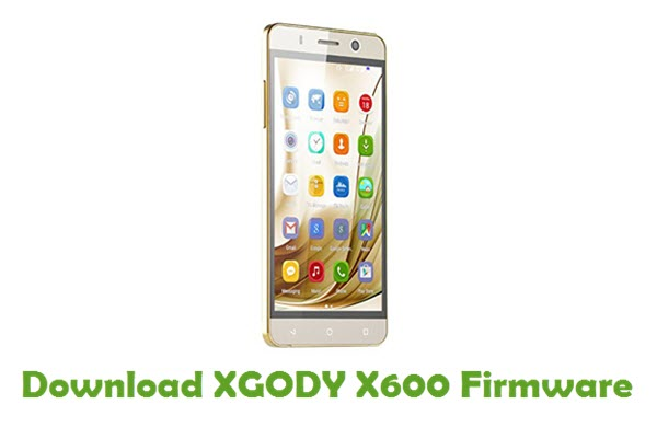 Download XGODY X600 Stock ROM
