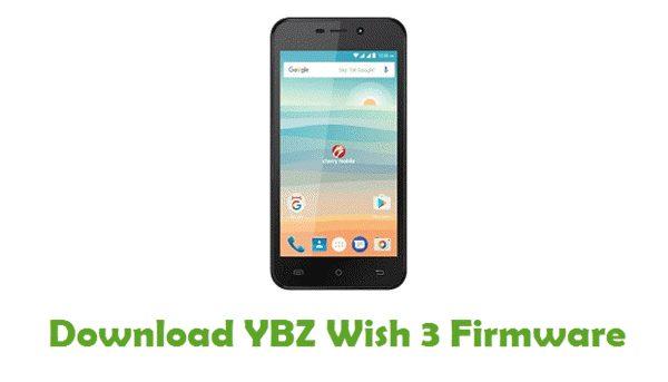 Download YBZ Wish 3 Stock ROM
