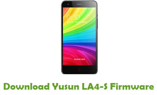 Yusun LA4-S Stock ROM