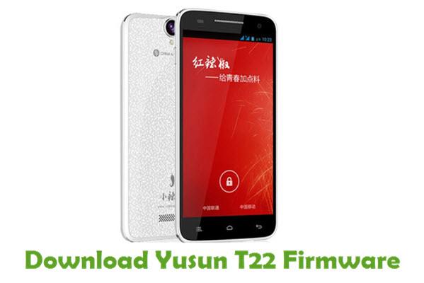 Yusun T22 Stock ROM