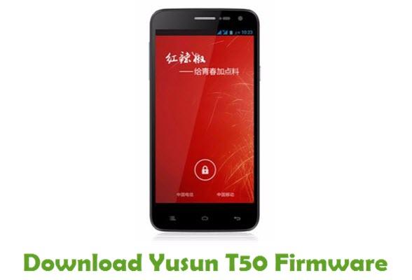 Download Yusun T50 Stock ROM