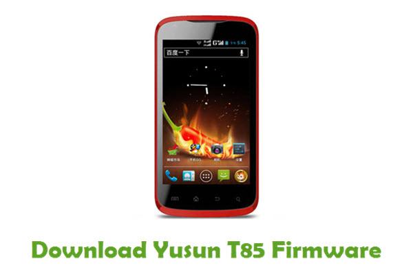 Yusun T85 Stock ROM