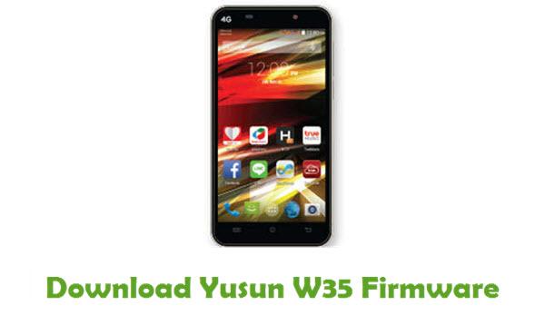 Download Yusun W35 Stock ROM