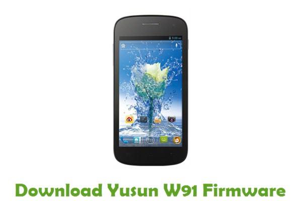 Yusun W91 Stock ROM