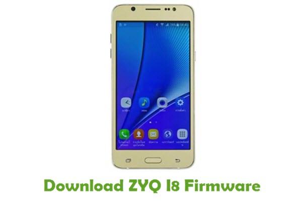 Download ZYQ I8 Stock ROM